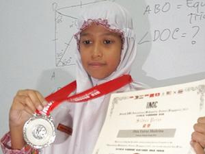 Siswi Muhammadiyah Juara 2 Matematika Dunia