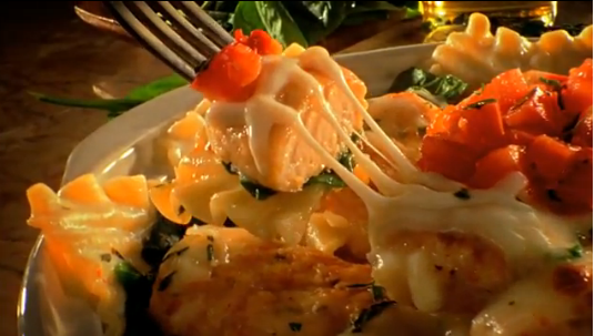 Tierney tavern baked pasta romana with pan seared chicken for Pasta romana
