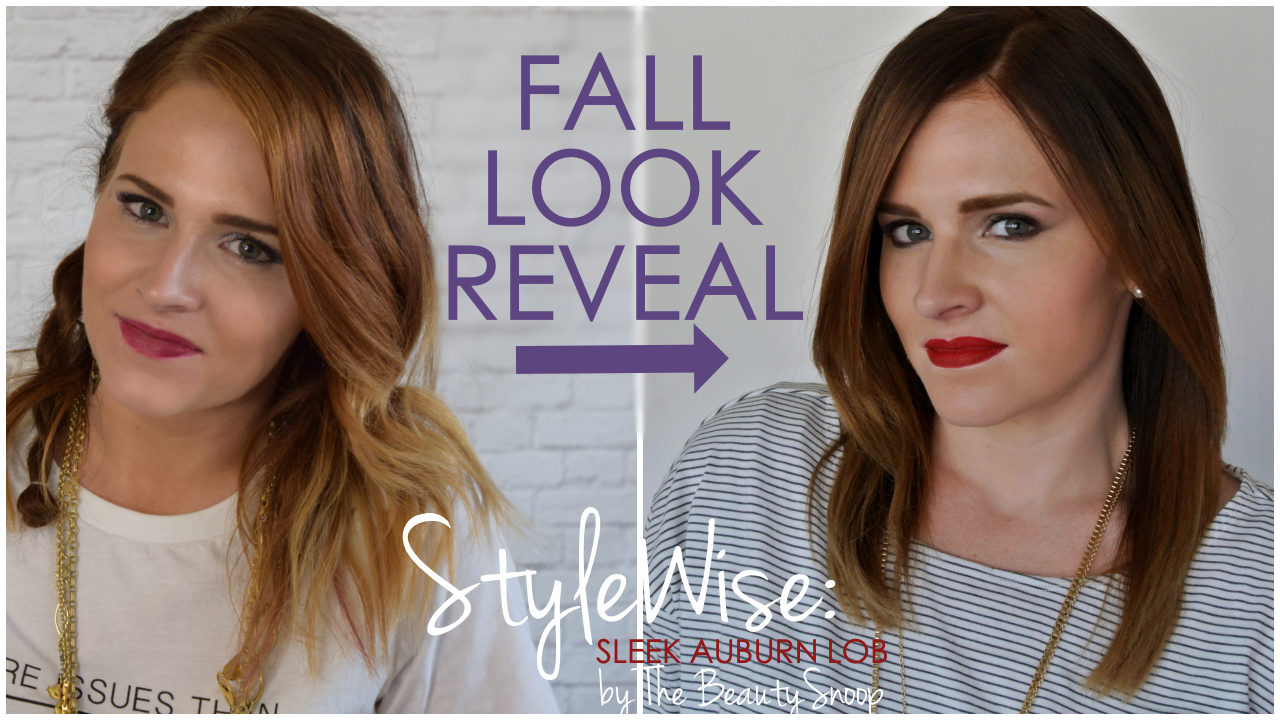 Fall 2014 trends: sleek, blunt haircuts with red tones