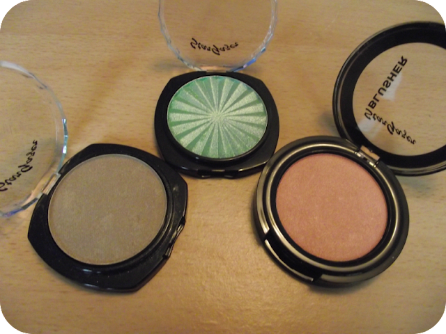Eyeshadows and Blusher