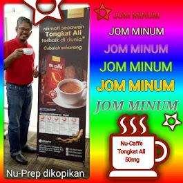 Nu-Caffe Tongkat Ali. 50mg