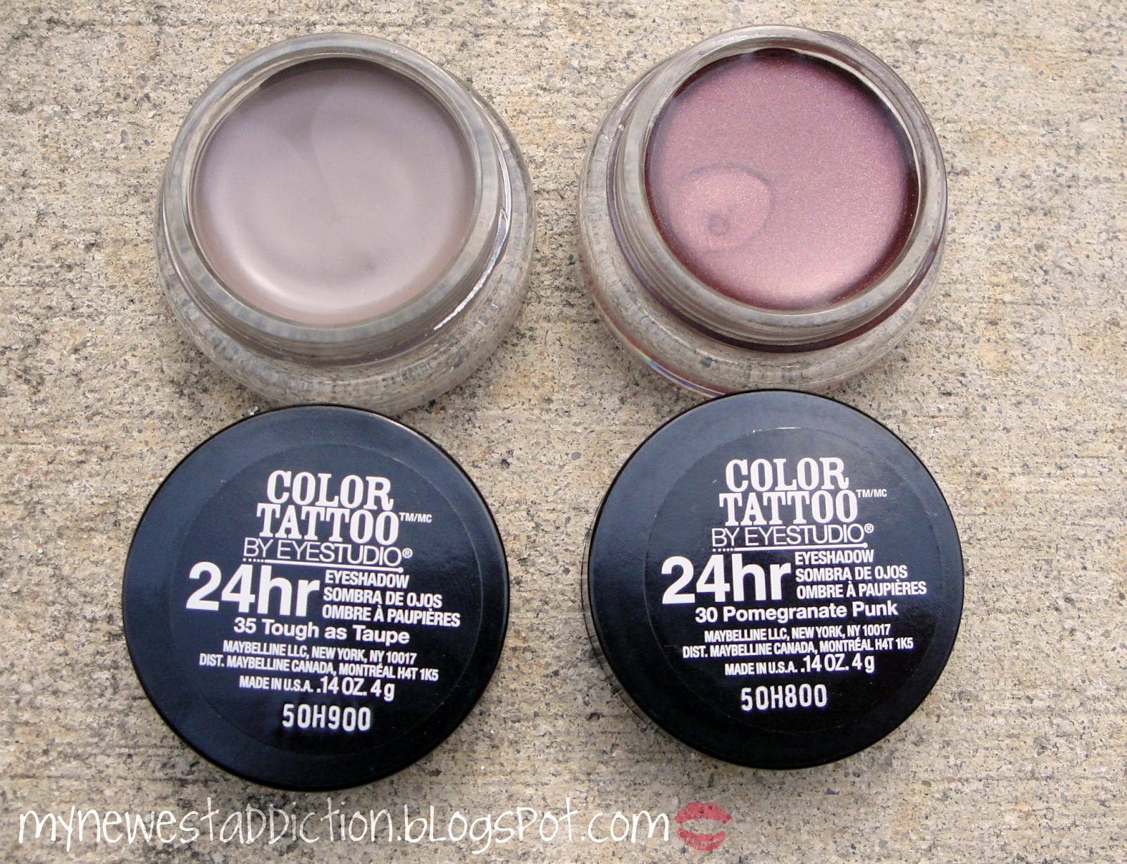 Maybelline color tattoo 24 hour eye shadow tough as taupe for Maybelline color tattoo in pomegranate punk