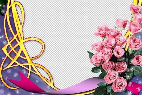 Portaretrato con rosas para el Día de las Madres 1