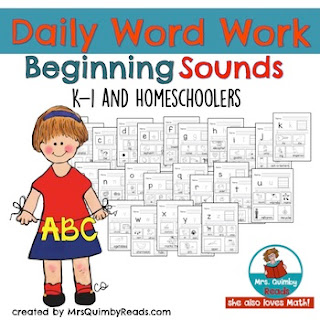 Listening for Beginning Sounds