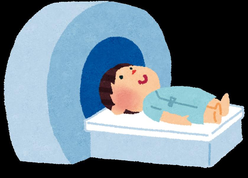 イラスト お正月 イラスト 簡単 : ... MRIに入っているイラストです