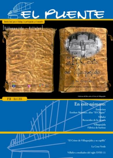 """""""EL PUENTE"""" Revista Cultural Nº38...  con mi aportación (archivo pdf)"""