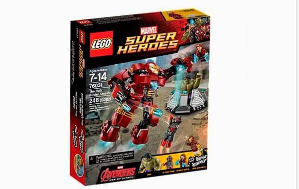 Lego: El Golpe Demoledor de Hulk