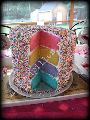 Aux Papilles Sucrées: Gâteau Coloré!
