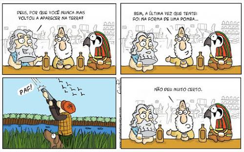 Tirinhas da Luna #67: 'Plano errado' | Ordem da Fênux Brasileira