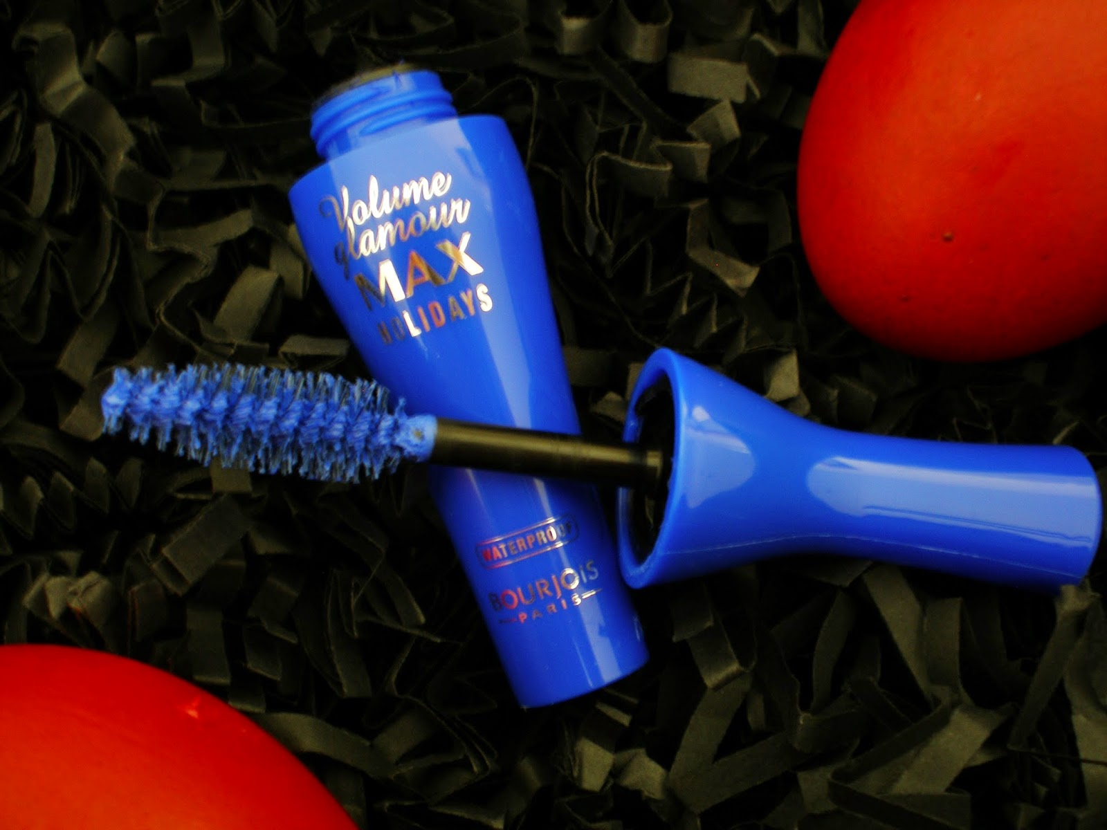 Bourjois Volume Glamour Max Holidays mini mascara in Electric Blue