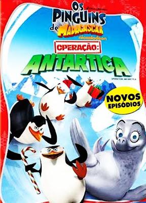 Os Pinguins de Madagascar - Operação: Antartica - DVDRip Dual Áudio