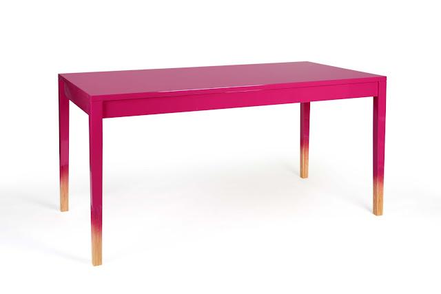 Judith Seng ,Trift, Hide&show, Tisch, Pink