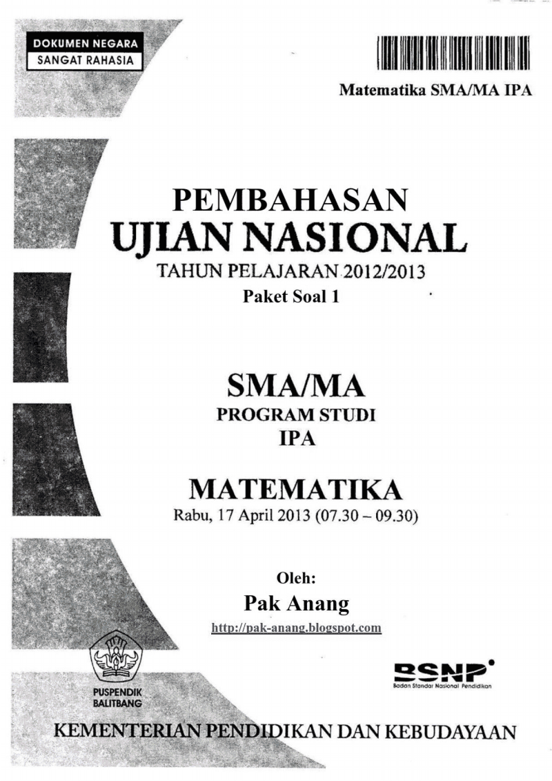 Read more on Soal un sma 2014 soal unas 2014 .