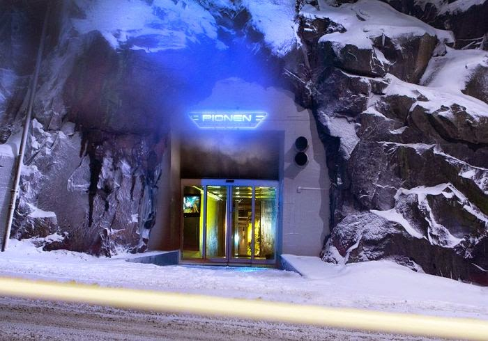 oficinas espectaculares, Pionen, Estocolmo