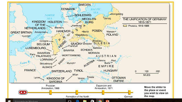 Today In Social Sciences Some Interactive Maps And Videos - Germany unification map