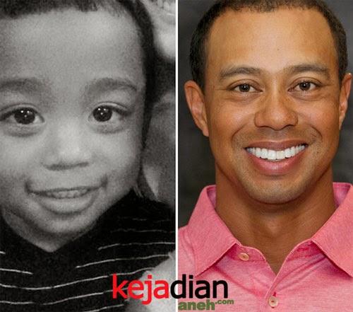 Bayi Lucu Mirip Tiger Woods
