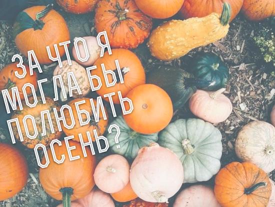 за что вы любите осень
