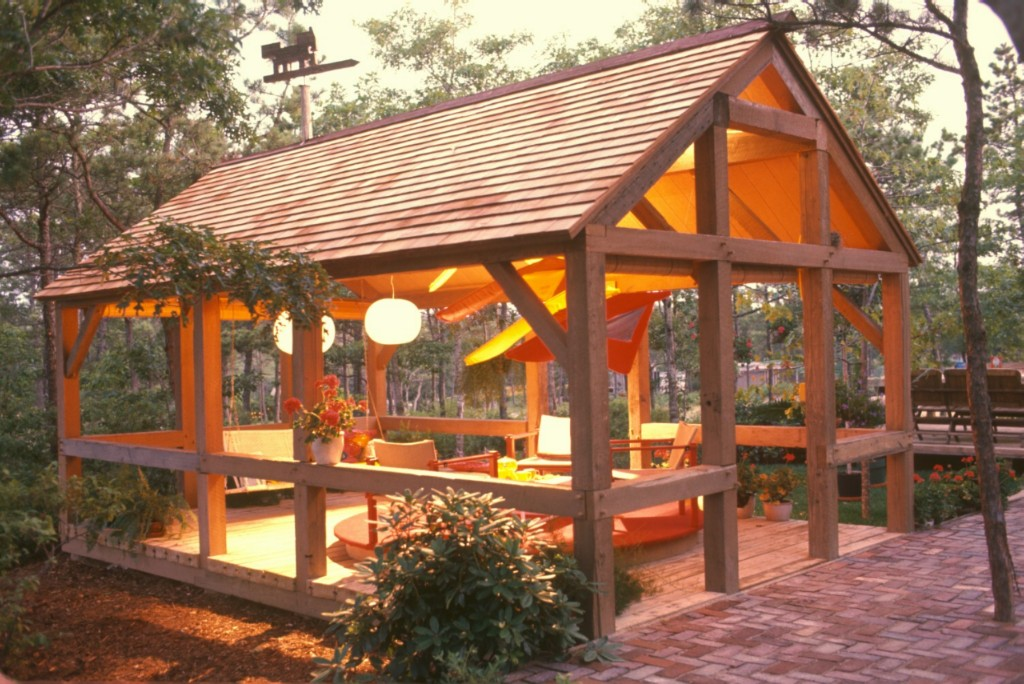 Outdoor Room Design Cool Of Post and Beam Outdoor Room Pictures