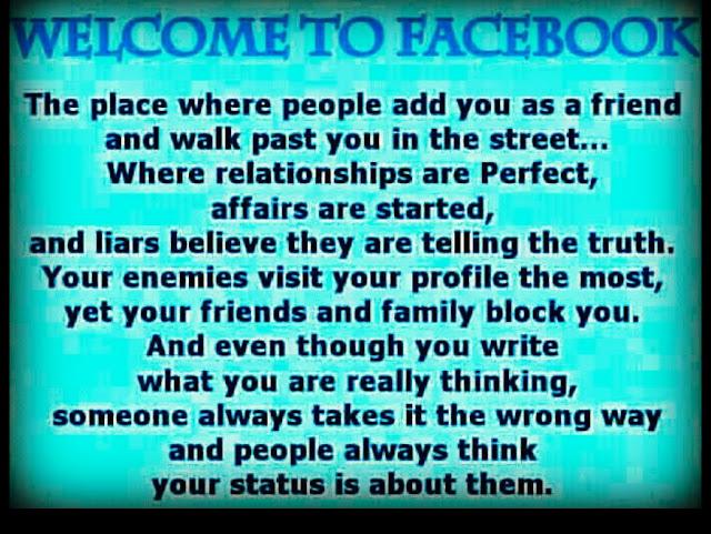 Funny Stuff To Say On Facebook Nadiya...Loving...