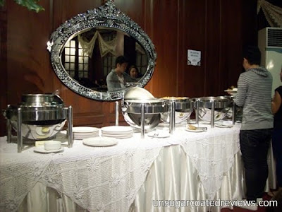 buffet at Barbara's Restaurant Intramuros