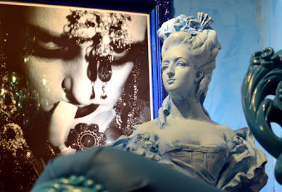 "Marie Antoinette in ""Darkly, Deeply, Beautifully Blue"" (MODA)"