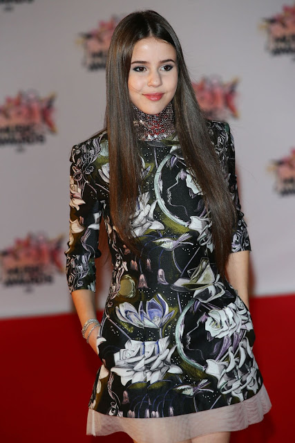Singer @ Marina Kaye - NRJ Music Awards in Cannes, France