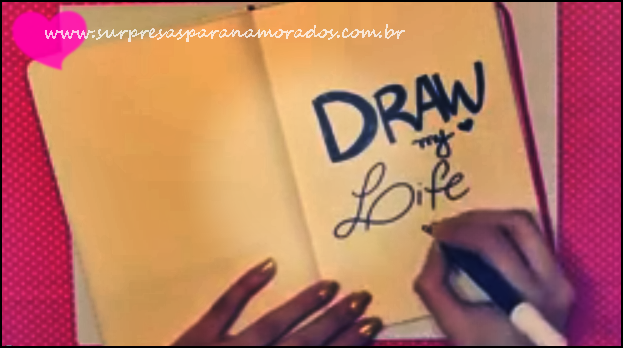 how to create draw my life video