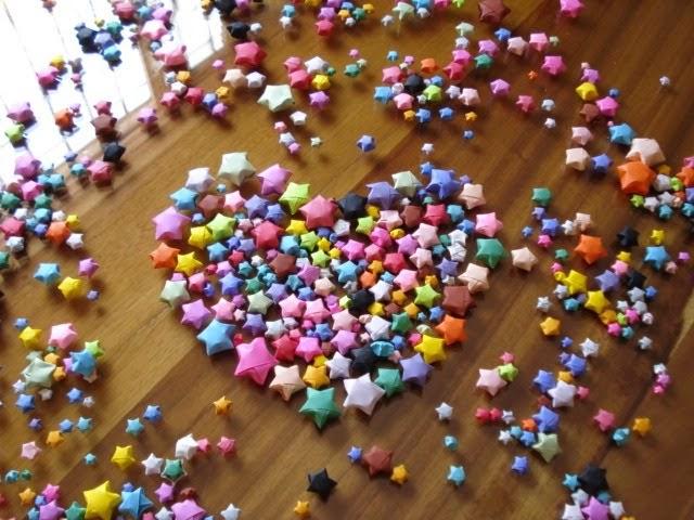 Cara Membuat Origami Bintang dalam Botol - Tutorial