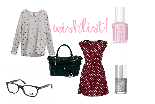 Autumn Wishlist- Beauty & Fashion