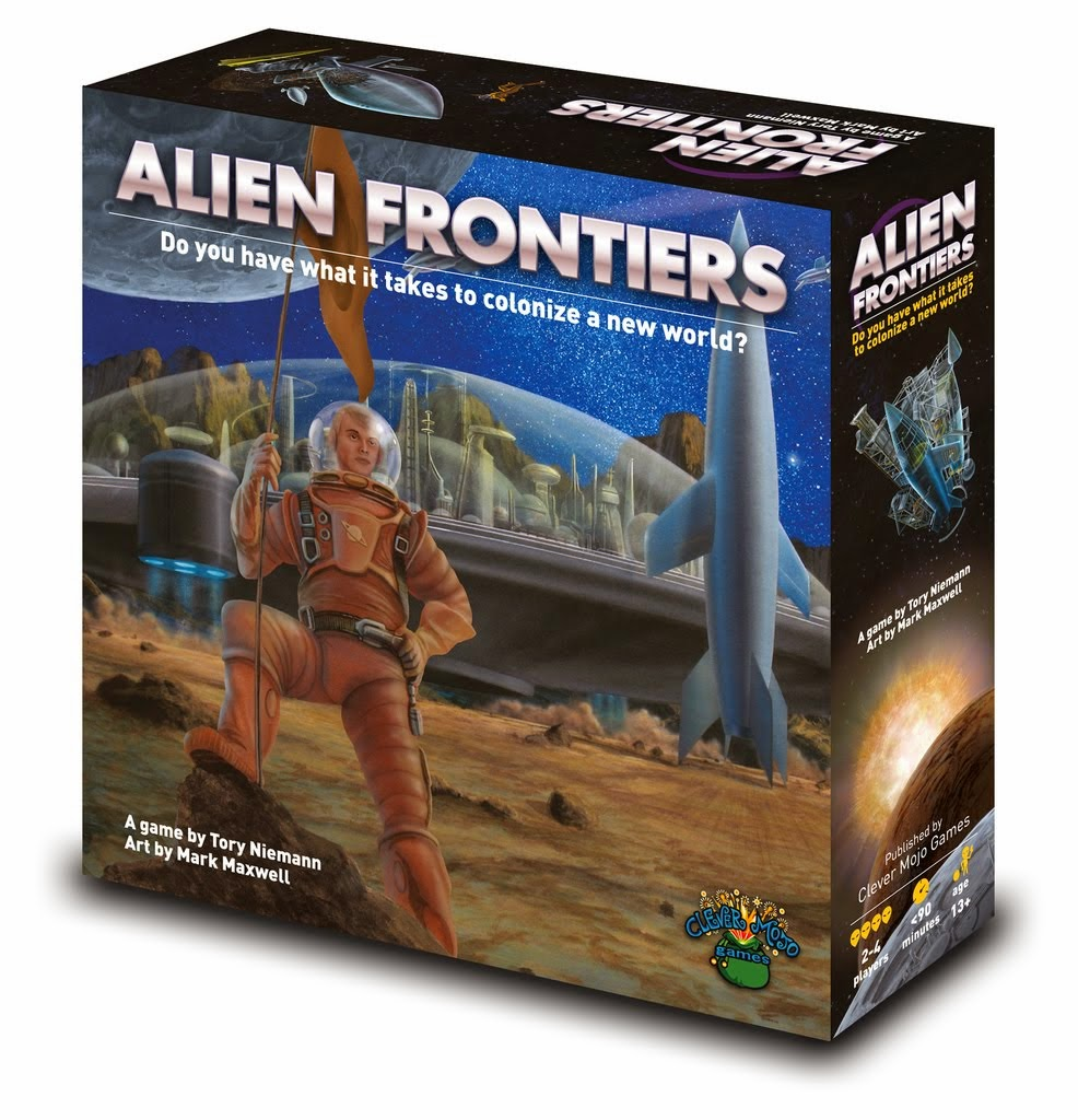 Alien Frontiers Cover Assets Board Game Barker