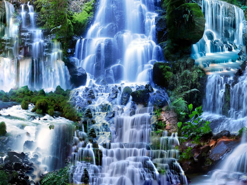 free waterfall wallpaper backgrounds - photo #33