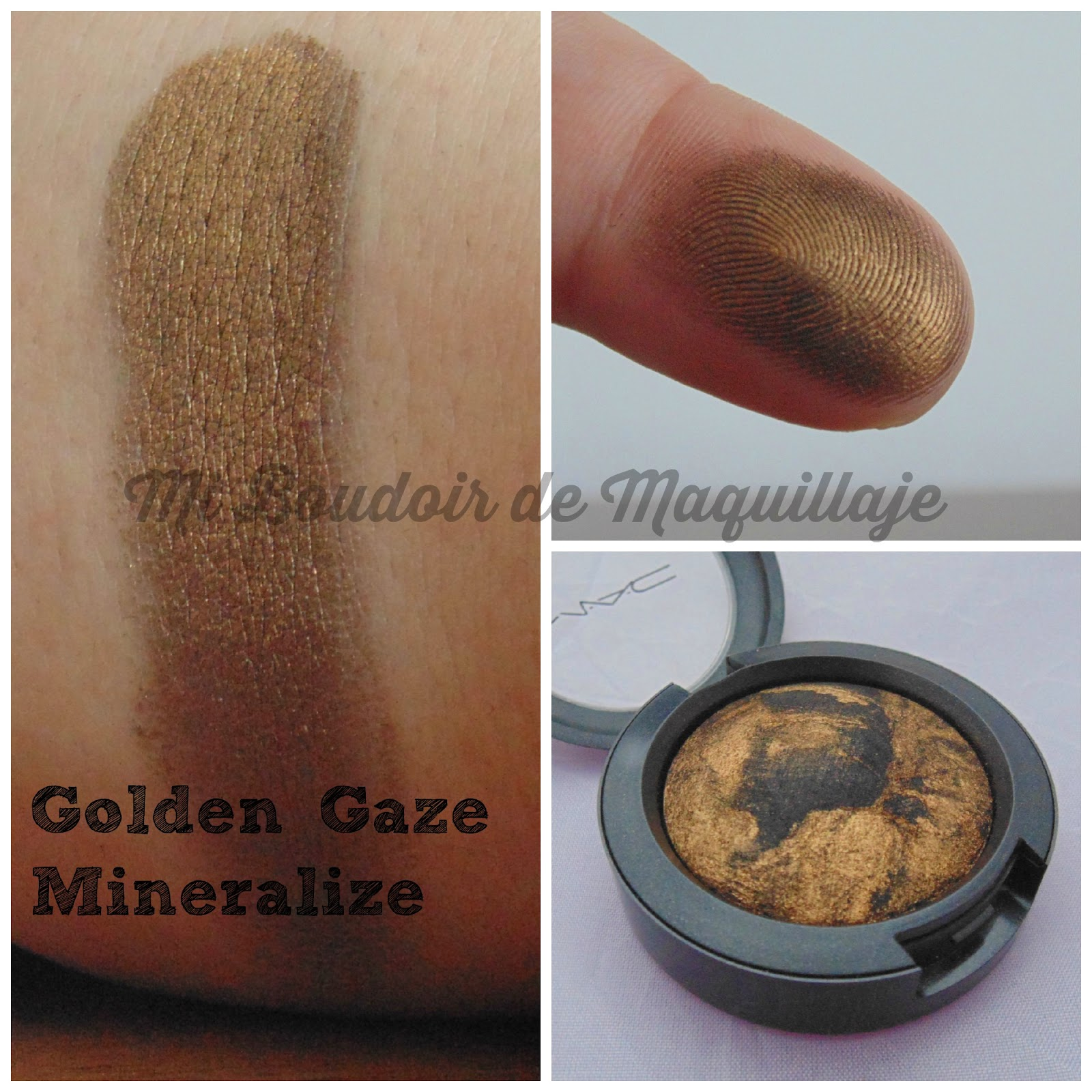 Golden Glaze Mineralize Eyeshadow Mac