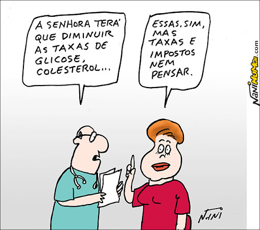 Taxas altas de Dilma