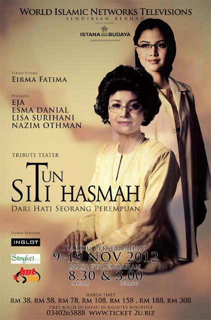 Teater Tun Siti Hasmah rocking Istana Budaya