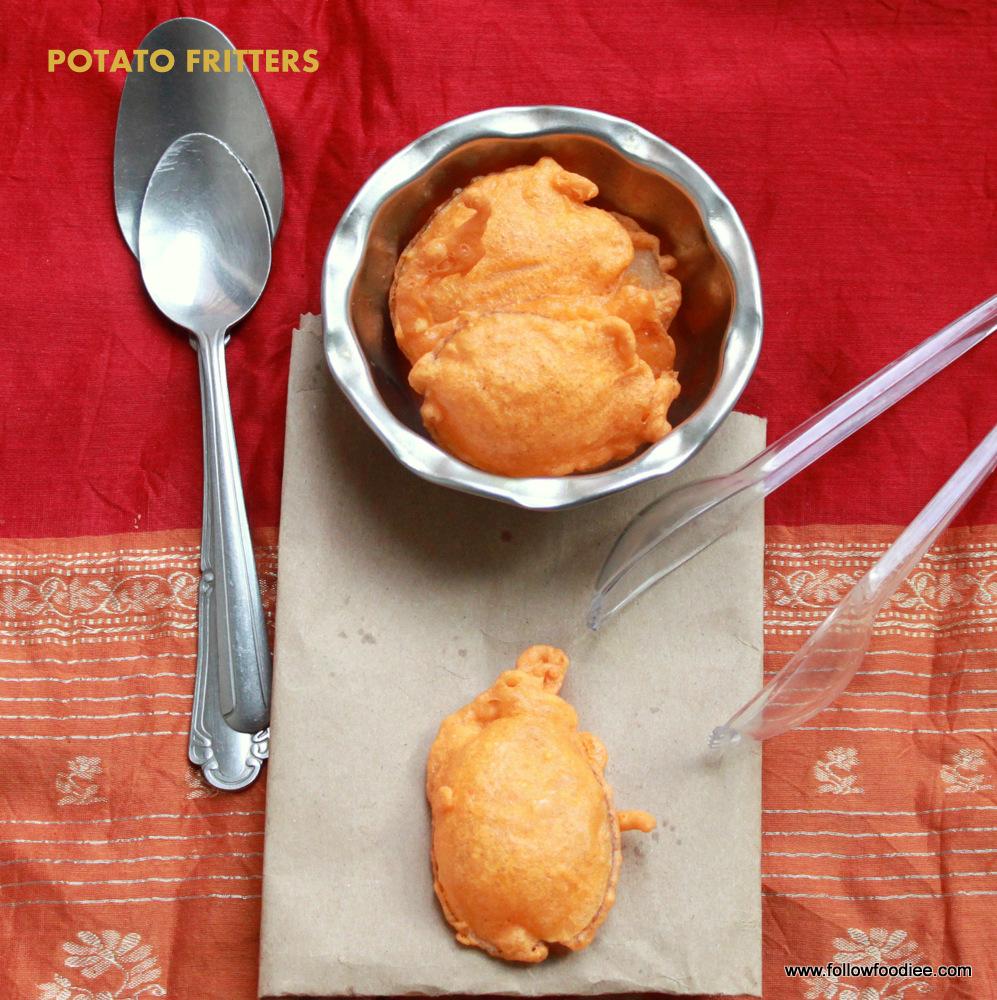 Potato Bajji  | Potato Fritters | உருளைக்கிழங்கு பஜ்ஜி