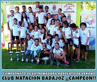 Campeonato de Extremadura Alevín, Infantil, Junior y Absoluto de Verano. Don Benito 2016.