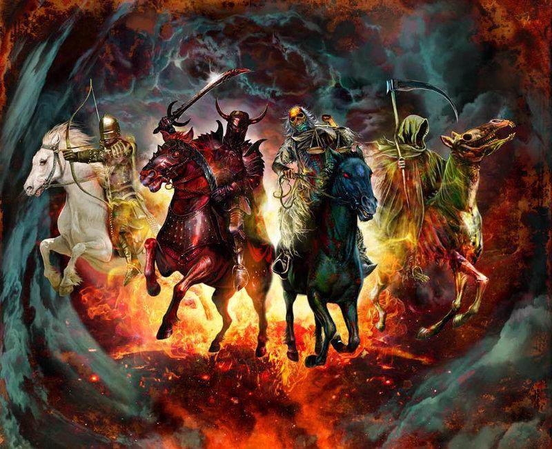 4 horsemen of the apocalypse bible
