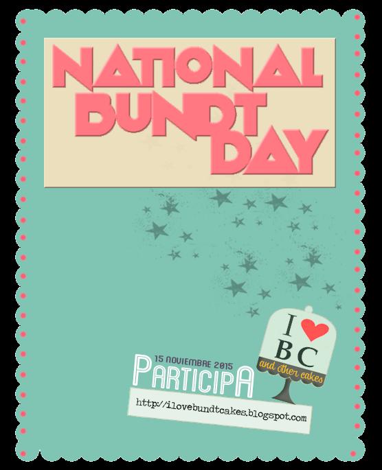 Día Internacional de Bundt Cake
