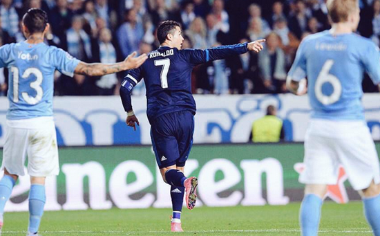 Malmo 0 x 2 Real Madrid - Grupo A / Champions League 2015/16
