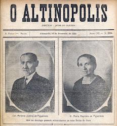 1930 - Celebridades de toda a região se encontram em Altinópolis.