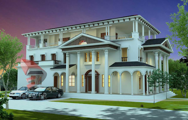 3d architecture animation,3d design, exterior home design