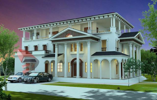 3d architecture animation,3d design, exterior home design