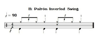 patron inverted swing