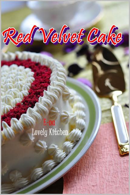 Tempahan Khas Red Velvet Cake @ Kek Baldu Merah