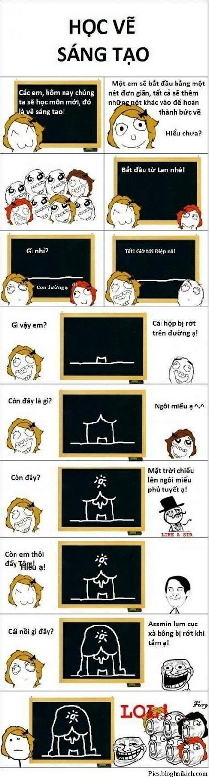 Troll cô giáo