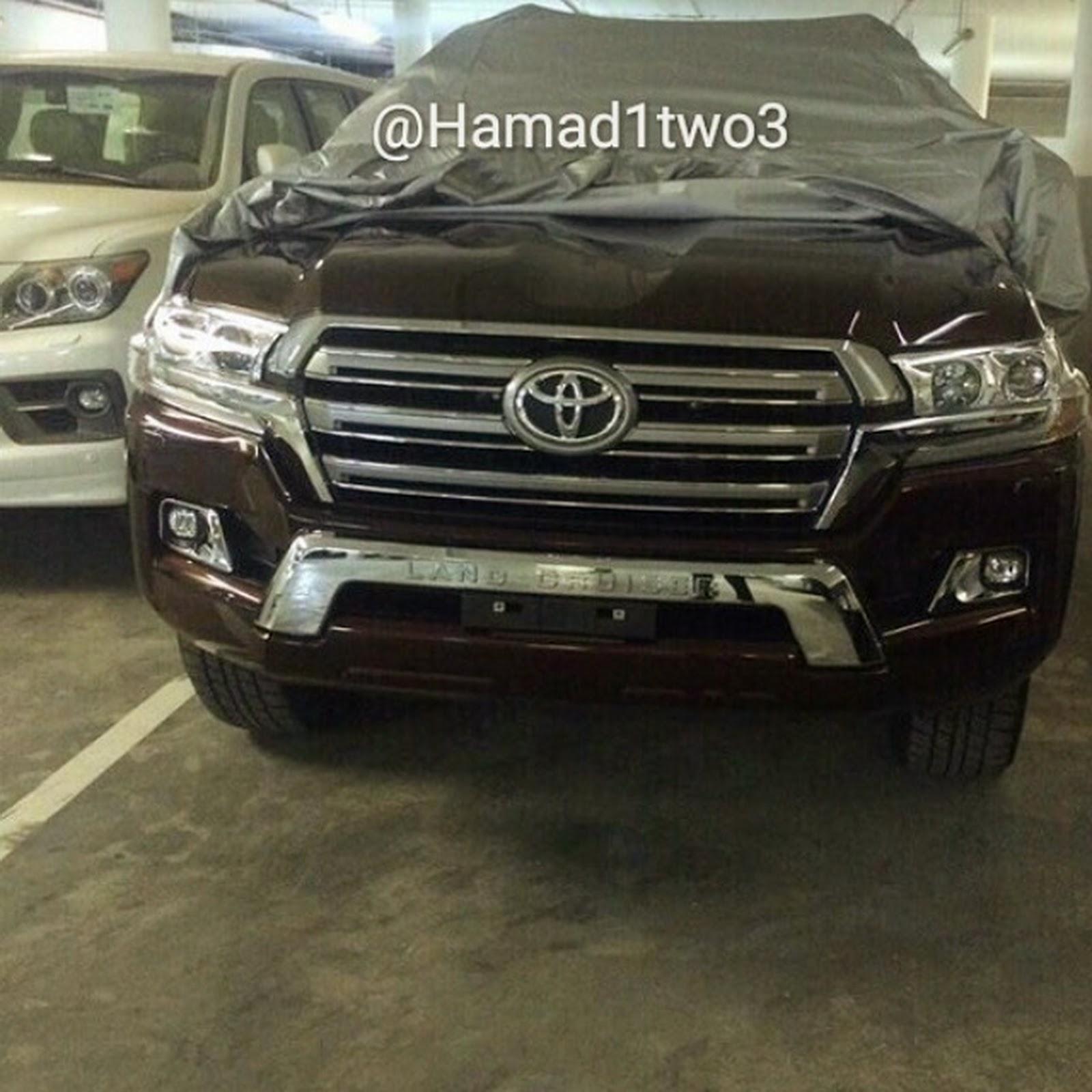 2011 - [Toyota] Land Cruiser SW  2016-Toyota-LC1