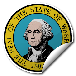 Sticker of Washington Seal