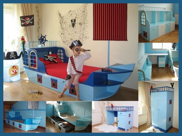 Fotos y dise o de dormitorios todos los estilos - Dormitorios infantiles tematicos ...