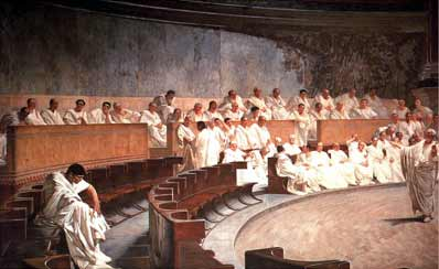 ancient rome senate jpgAncient Roman Politics