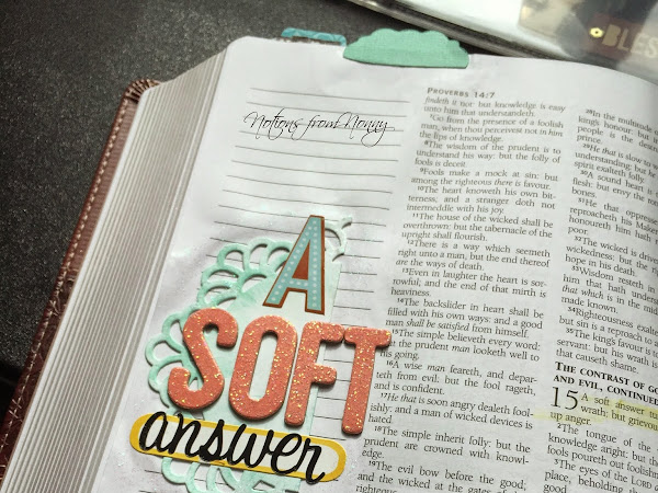 Journaling Bible | Proverbs 15:1